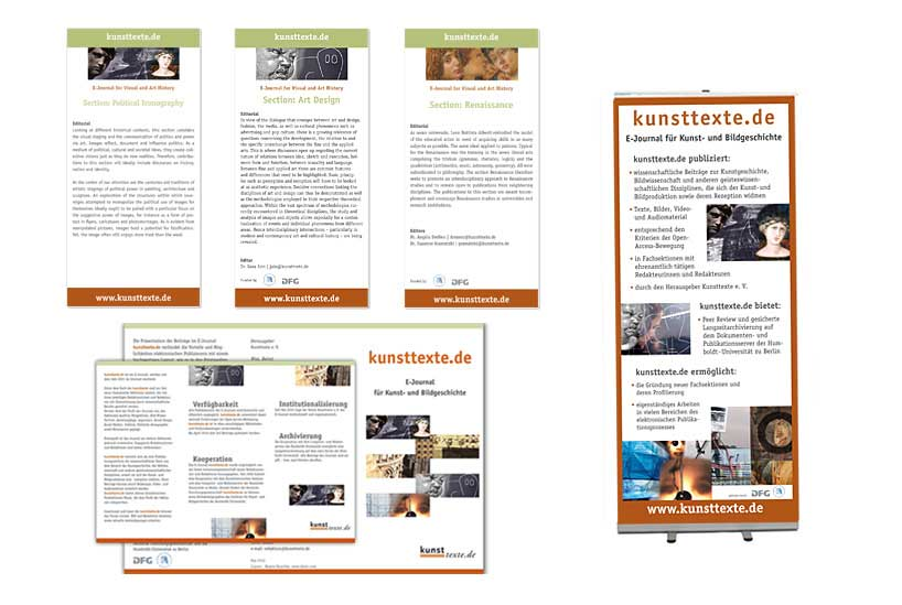 corporateDesign kunsttexte